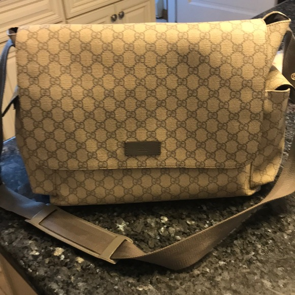 7596ce2db95 Gucci Other - Gucci Diaper Bag and Changing Pad